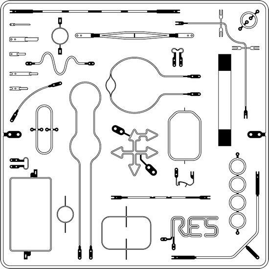 Ropex Contour Shape Heat Seal Bands and Elements